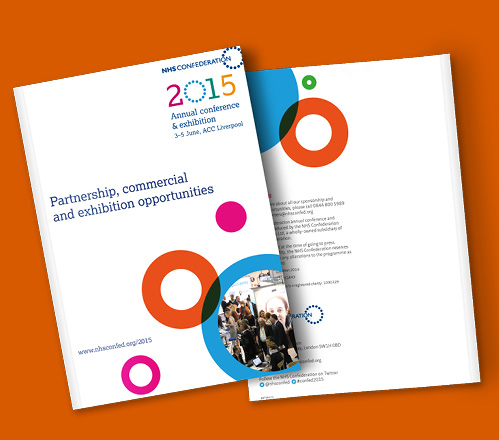 NHS Confederation spex brochure covers