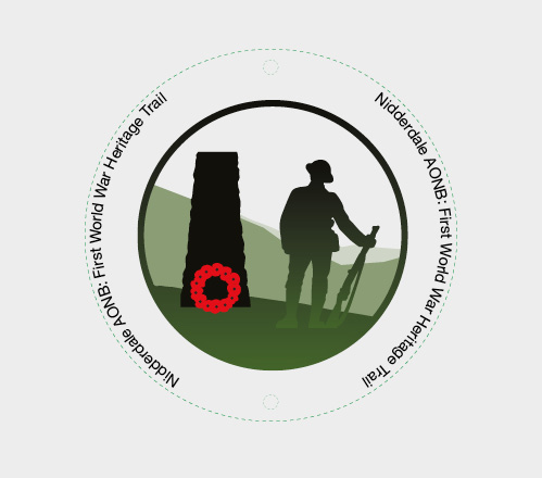 Crest designed for the WW1 Heritage Trail