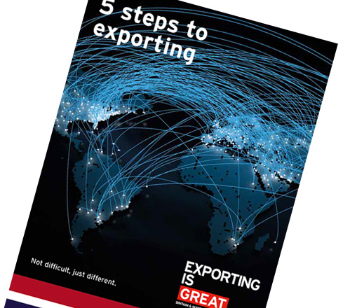 UK Trade & Investment passport to export online workshop programme leaflet