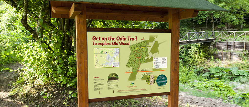 Woodland Trust Information Board