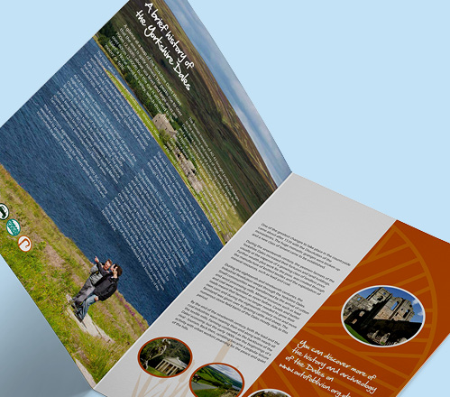 Distinctly Dales brochure double page spread