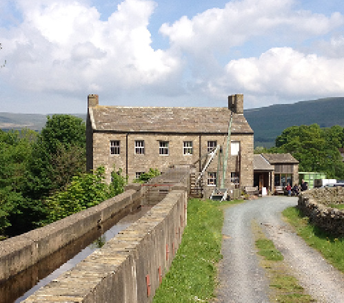 Gayle Mill Trust in Hawes, North Yorkshire - part of the Yorkshire Dales