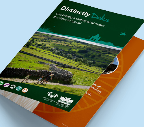 Distinctly dales brochure front cover