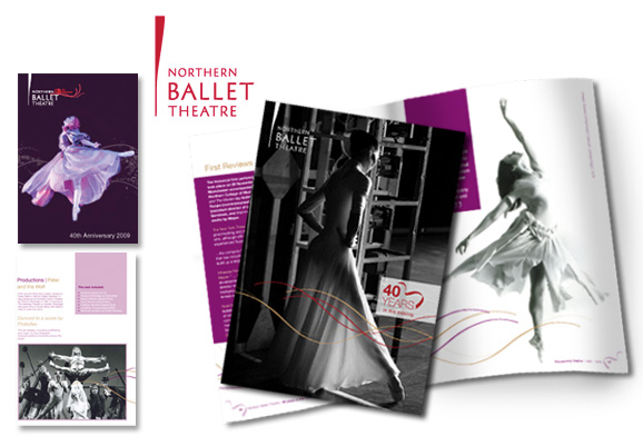 Northern Ballet Brochure Design