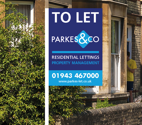 Parkes and Co To Let Board