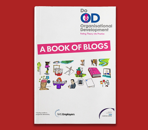 NHS Confederation Book of blogs front cover