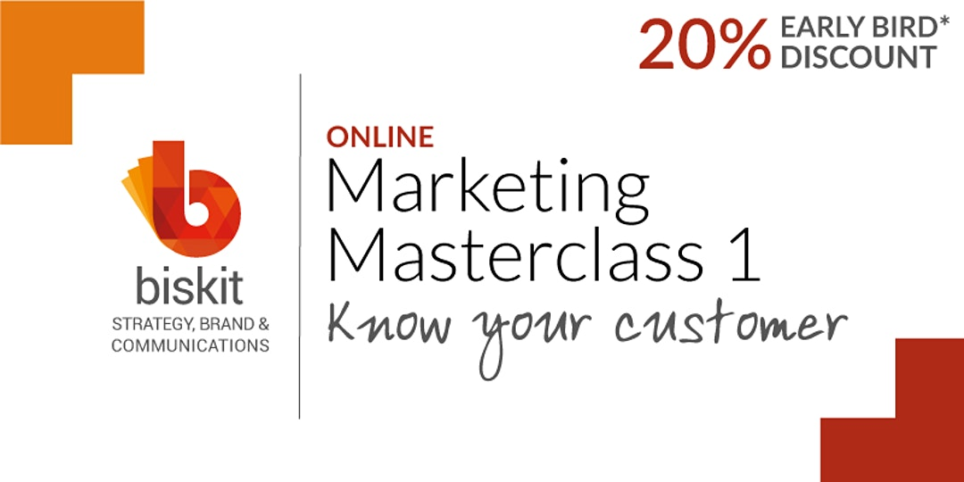 Marketing Masterclasses - 1,2 and 3