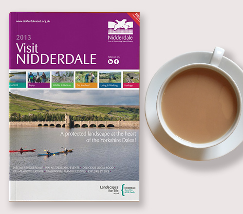 Visit Nidderdale guide front cover