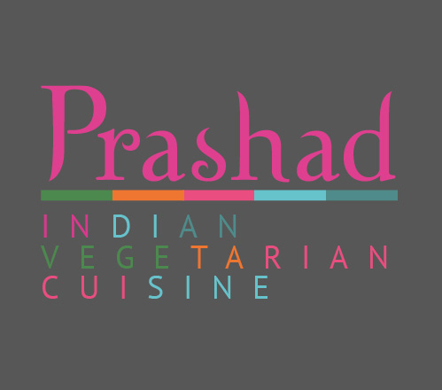 Prashad reimagined logo from their rebrand