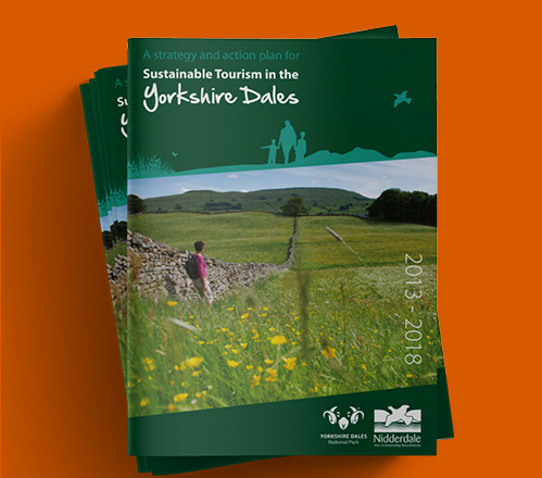 Sustainable tourism brochure for Yorkshire Dales National Park